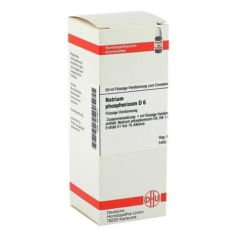 NATRIUM PHOSPHORICUM D 6 Dilution 50 Milliliter N1