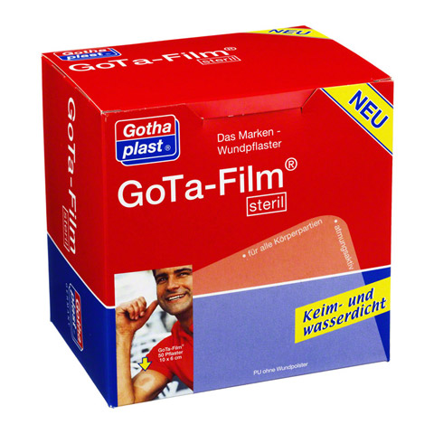 GOTA FILM steril 10x6cm Pflaster 50 St�ck