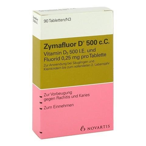 Zymafluor D 500 c.C. 90 Stück N3