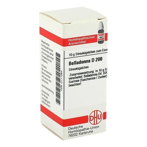 BELLADONNA D 200 Globuli 10 Gramm N1
