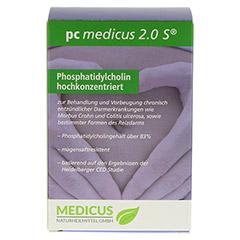 PC MEDICUS 2.0S magensaftresistente Kapseln 180 Stück - Vorderseite