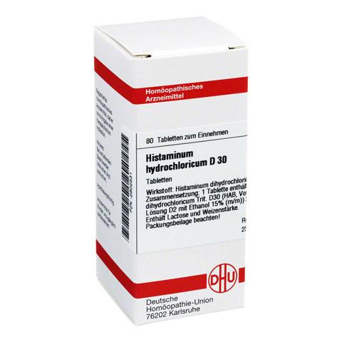 HISTAMINUM hydrochloricum D 30 Tabletten 80 Stück