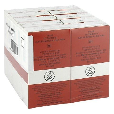 MUCOKEHL Suppositorien D 3 10x10 Stück N3