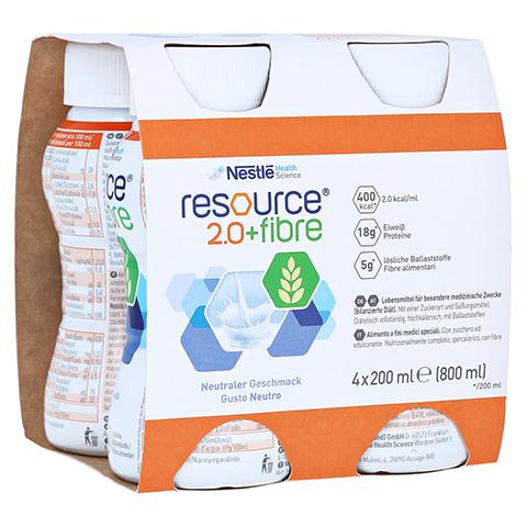 RESOURCE 2.0 fibre Neutral 4x200 Milliliter