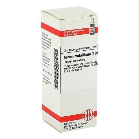 AURUM METALLICUM D 30 Dilution 20 Milliliter N1