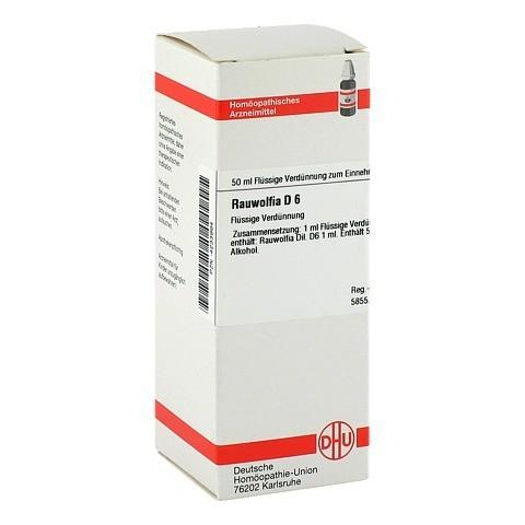 RAUWOLFIA D 6 Dilution 50 Milliliter N1
