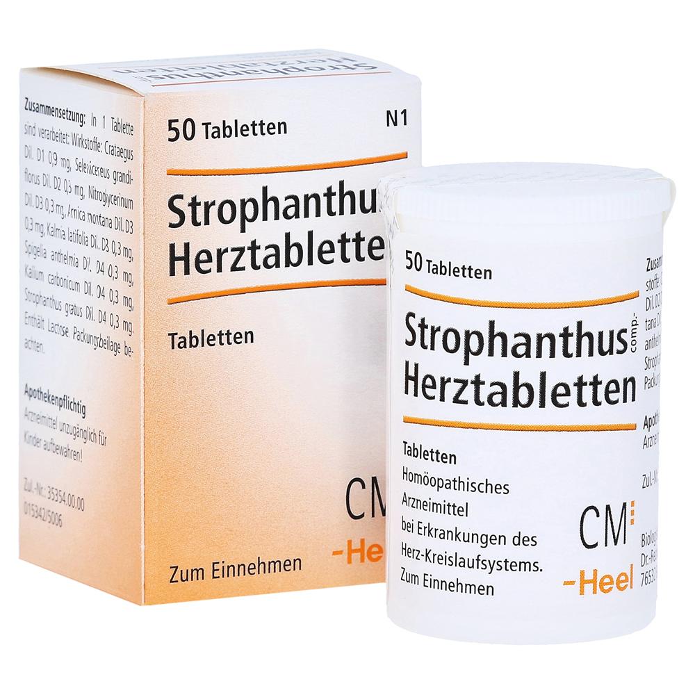 STROPHANTHUS COMP.Herztabletten 50 Stück