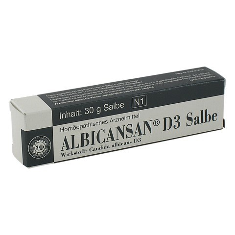 ALBICANSAN D 3 Salbe 30 Gramm N1
