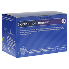ORTHOMOL nemuri Granulat 15 Stück