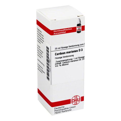 CARDUUS MARIANUS D 3 Dilution 20 Milliliter N1