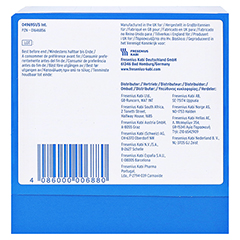 CALSHAKE Banane Beutel Pulver 7x87 Gramm - Unterseite