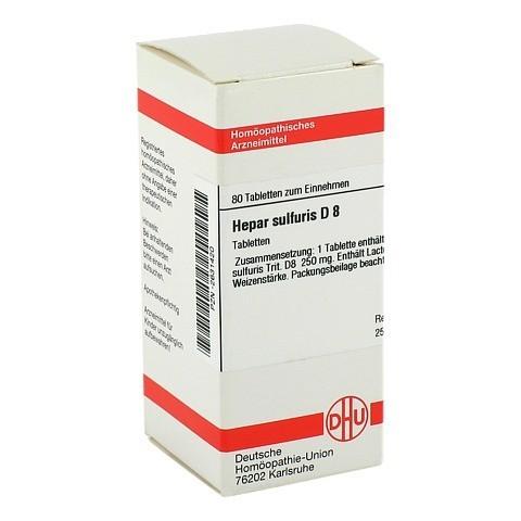 HEPAR SULFURIS D 8 Tabletten 80 Stück N1