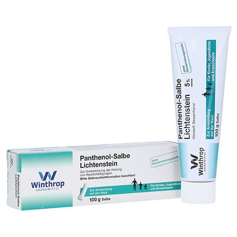 Panthenol-Salbe Lichtenstein 100 Gramm N3