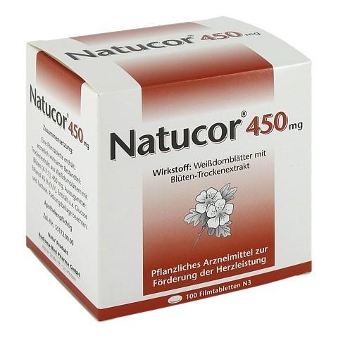 Natucor 450mg 100 Stück N3