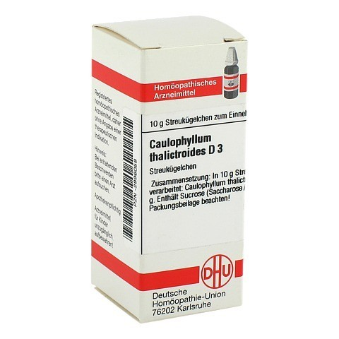 CAULOPHYLLUM THALICTROIDES D 3 Globuli 10 Gramm N1