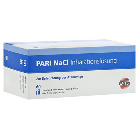PARI NaCl Inhalationsl�sung Ampullen 60x2.5 Milliliter