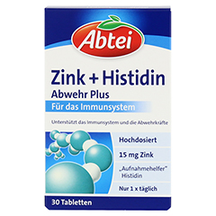 ABTEI Zink + Histidin 30 St�ck - Vorderseite