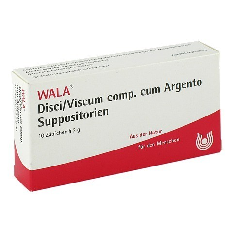 DISCI/Viscum comp.cum Argento Suppositorien 10x2 Gramm N1