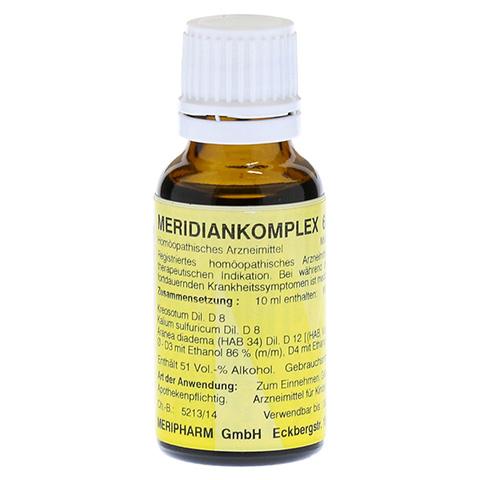 MERIDIANKOMPLEX 6 Tropfen zum Einnehmen 20 Milliliter N1