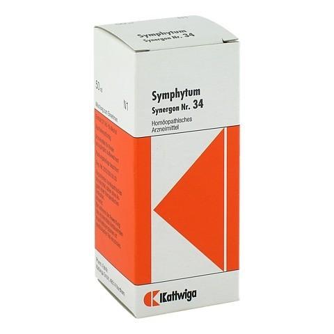 SYNERGON KOMPLEX 34 Symphytum Tropfen 50 Milliliter N1