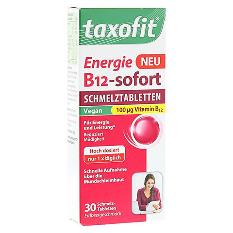 TAXOFIT Energie B12-sofort Schmelztabletten 30 Stück