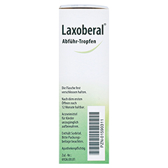 Laxoberal Abführ-Tropfen 7,5mg/ml 30 Milliliter N2 - Linke Seite
