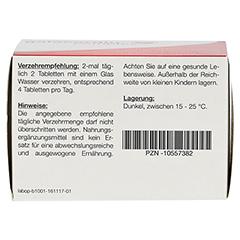 GALACORDIN complex Tabletten 60 St�ck - Unterseite