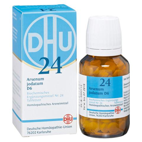 BIOCHEMIE DHU 24 Arsenum jodatum D 6 Tabletten 200 St�ck N2