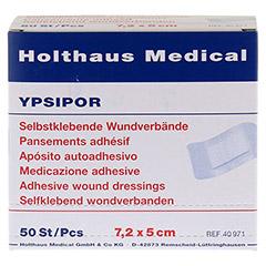 WUNDVERBAND Ypsipor steril 5x7,2 cm 50 Stück - Vorderseite