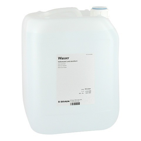 DESTILLIERTES WASSER Kanister 10 Liter
