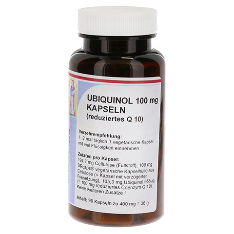 UBIQUINOL 100 mg reduziertes Q10 Kapseln 90 Stück