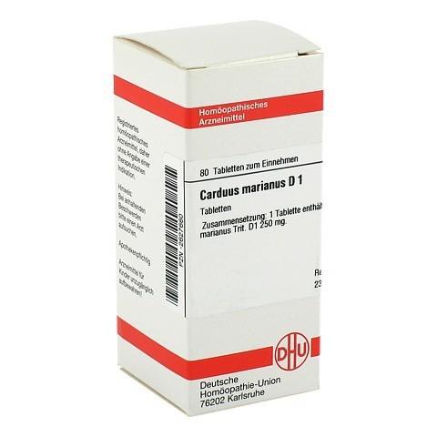 CARDUUS MARIANUS D 1 Tabletten 80 Stück N1