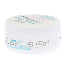 LAVERA basis sensitiv Creme soft dt 150 Milliliter - Linke Seite
