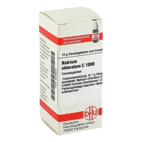 NATRIUM CHLORATUM C 1000 Globuli 10 Gramm N1