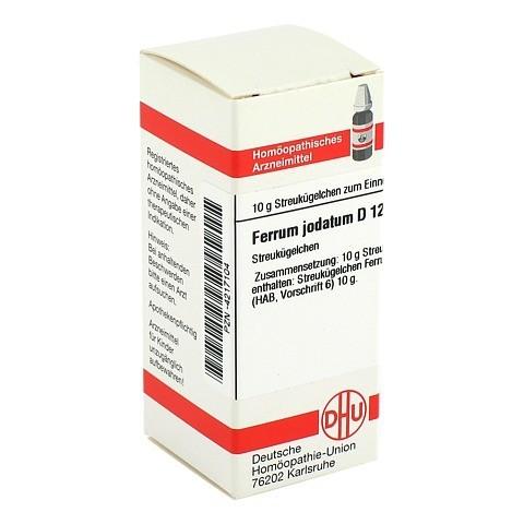 FERRUM JODATUM D 12 Globuli 10 Gramm N1
