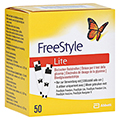 FREESTYLE Lite Teststreifen ohne Codieren 50 Stück