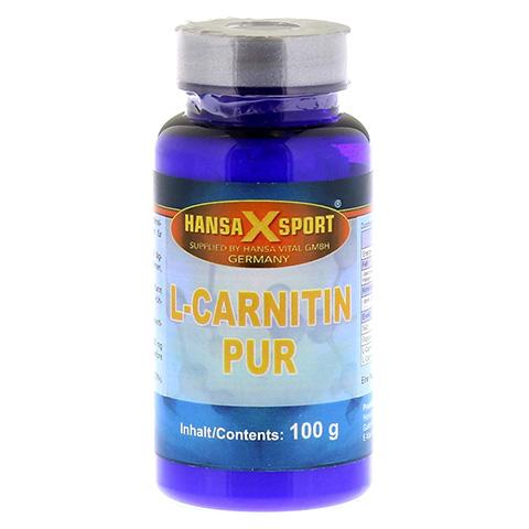 L-CARNITHIN Tatrat pur 100% Pulver 100 Gramm