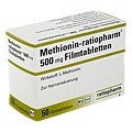 METHIONIN ratiopharm 500 mg Filmtabletten 50 St�ck N2