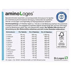 AMINO LOGES Tabletten 100 St�ck - R�ckseite