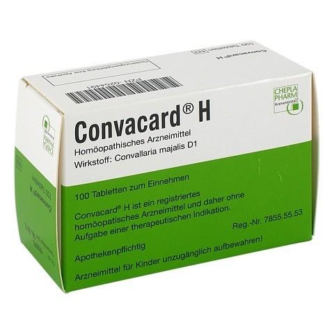 CONVACARD H Tabletten 100 Stück