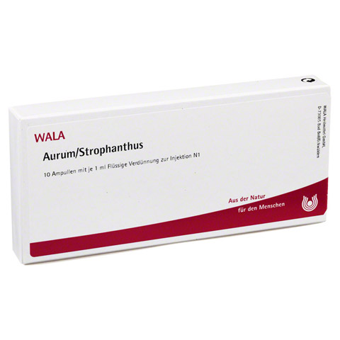 AURUM/STROPHANTHUS Ampullen 10x1 Milliliter N1