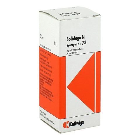 SYNERGON KOMPLEX 78 Solidago N Tropfen 50 Milliliter N1