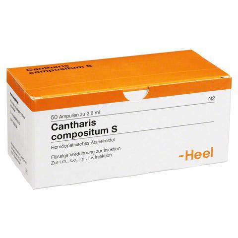 CANTHARIS COMPOSITUM S Ampullen 50 Stück N2