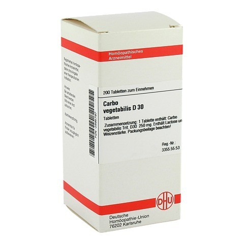 CARBO VEGETABILIS D 30 Tabletten 200 St�ck