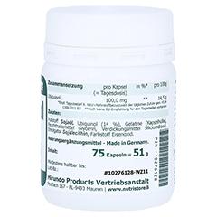 UBIQUINOL 100 mg Kapseln 60 Stück - Linke Seite