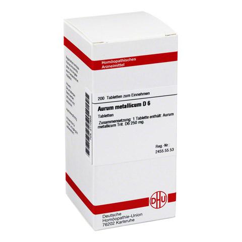 AURUM METALLICUM D 6 Tabletten 200 Stück N2