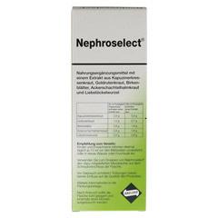 NEPHROSELECT 250 Milliliter - Rückseite