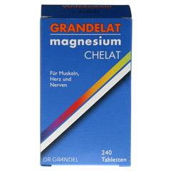 GRANDELAT MAG 60 MAGNESIUM Tabletten 240 Stück - Vorderseite