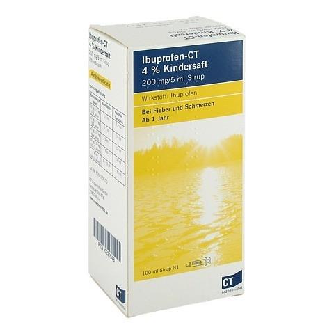 Ibuprofen-CT 4% Kindersaft 100 Milliliter N1