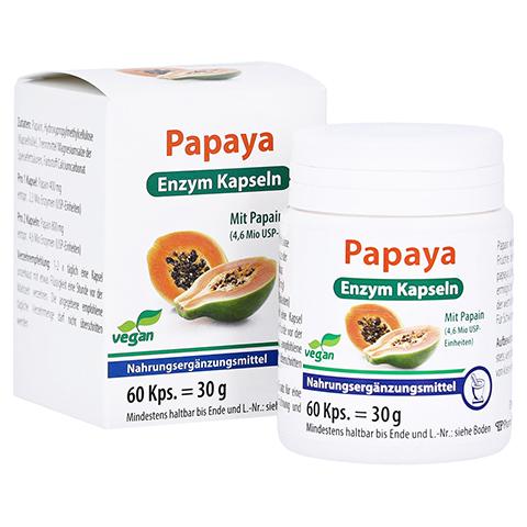 PAPAYA Enzym Kapseln 60 Stück